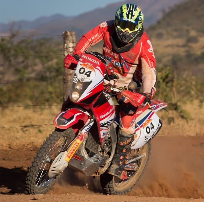 Tunico Maciel  Piloto Honda disputou o Rally dos Sertões com o seu IMS  Action Pro 3e32c6c08c