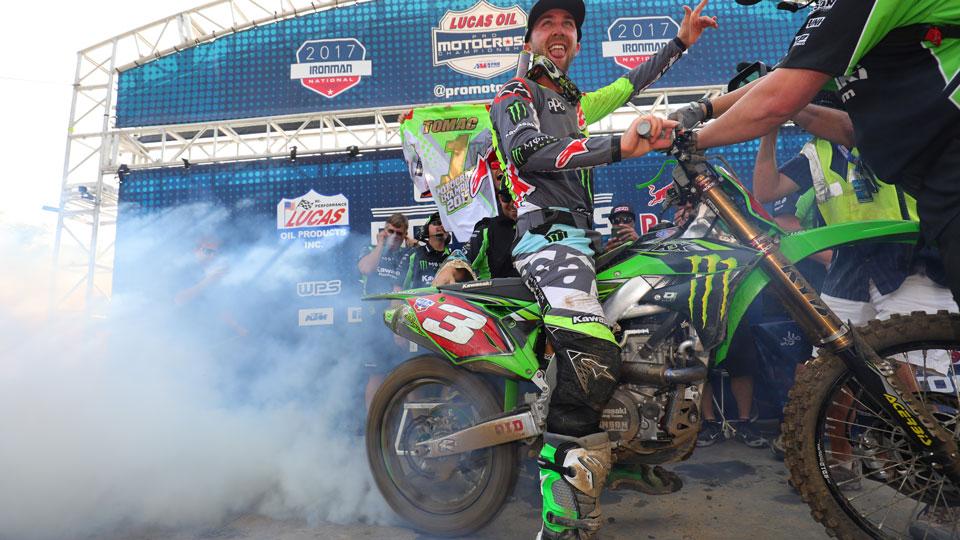 campeão do AMA Motocross 2017 na 450