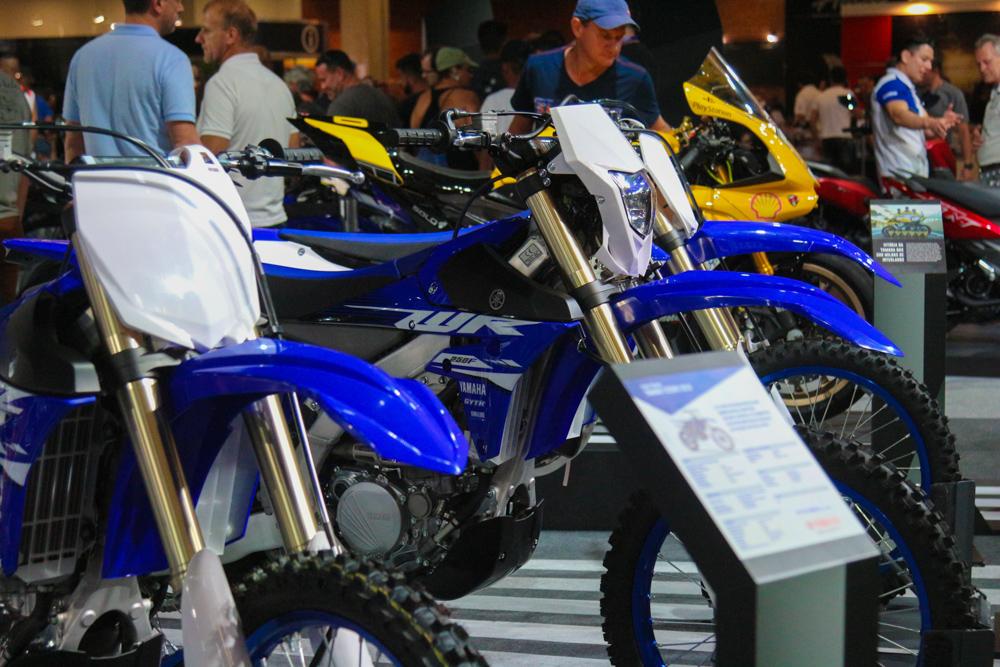 Yamaha no Salão Duas Rodas
