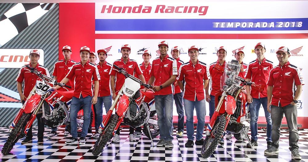 Honda Racing 2018