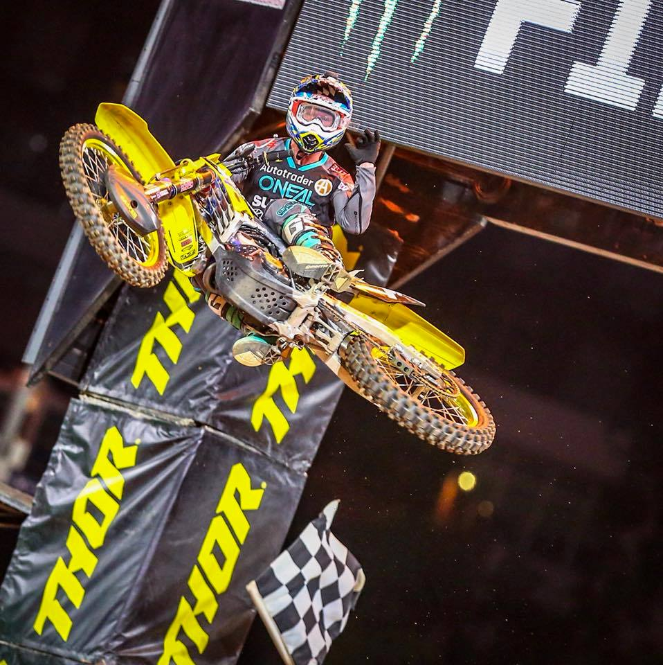 Resultados da 6ª etapa do AMA Supercross 2018