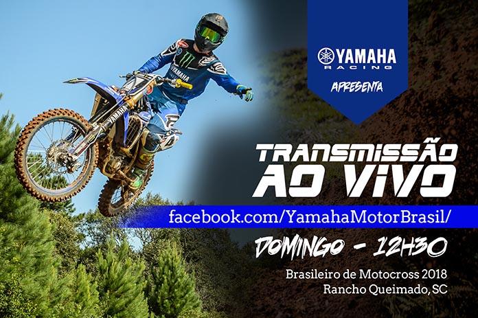 transmissão ao vivo no Brasileiro de Motocross