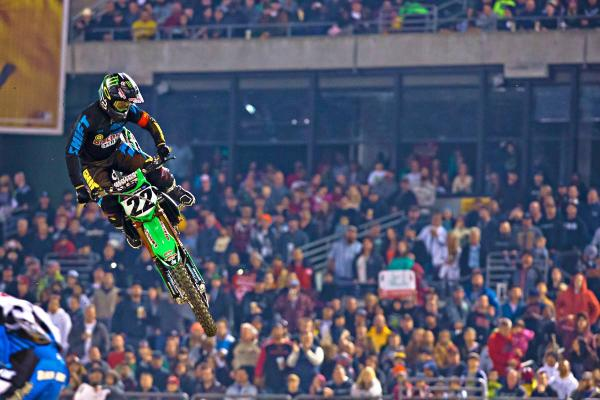 Chad Reed da TwoTwo Motorsports/Discount Tire Racing