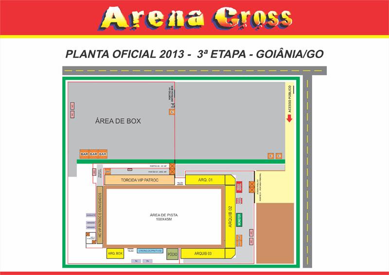 Ingressos Arena Cross Goiânia