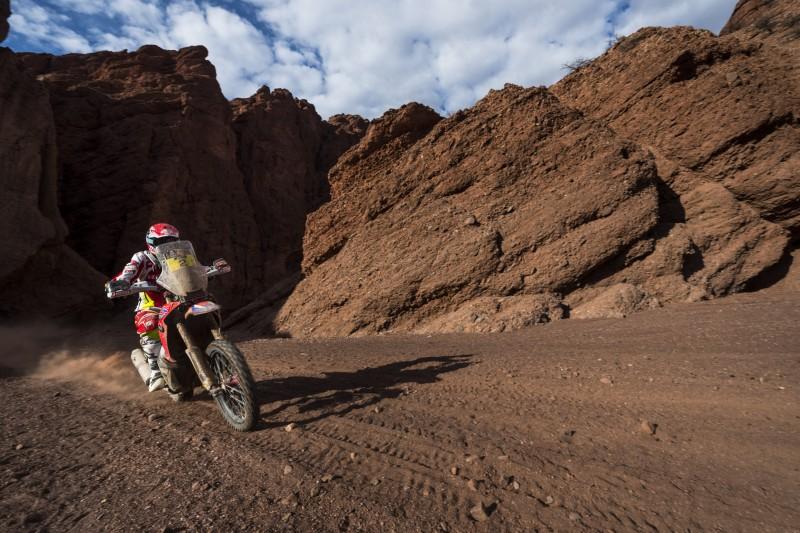 Joan Barreda décima primeira Dakar