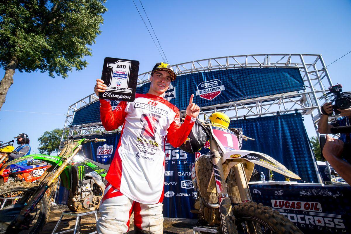 campeão do AMA Motocross 2017 na 250